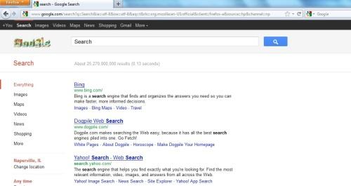 Google Search Fail